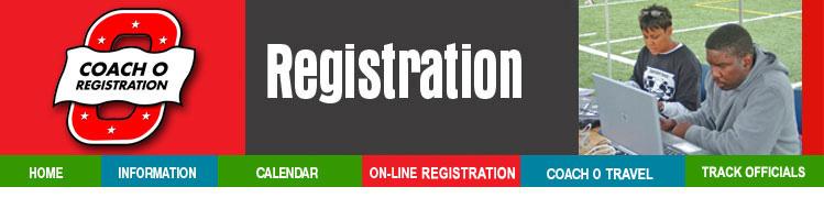 Coach O Registration