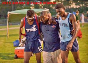 2015 Athlete & Coach winner