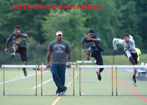 2015 Athlete & Father winner