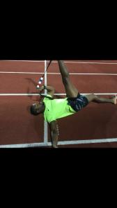 Olympic Athlete & 110m Hurdler