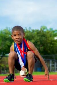 Jordan Evans goes for gold!!!