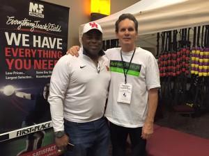 Former elite athlete & Collegiate Coach Leroy Burrell